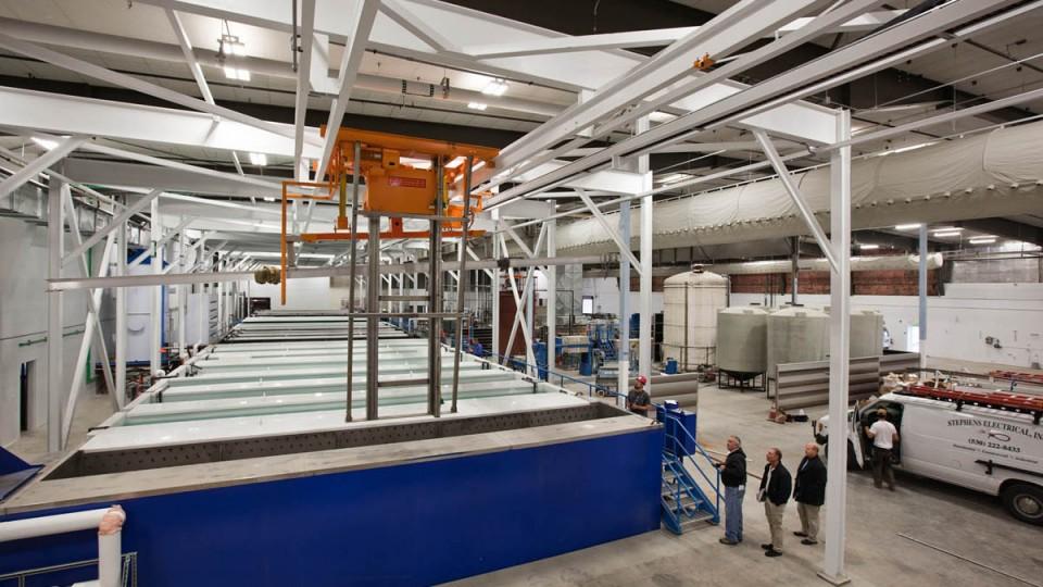 SAF Aluminum Anodizing Plant: SAF West